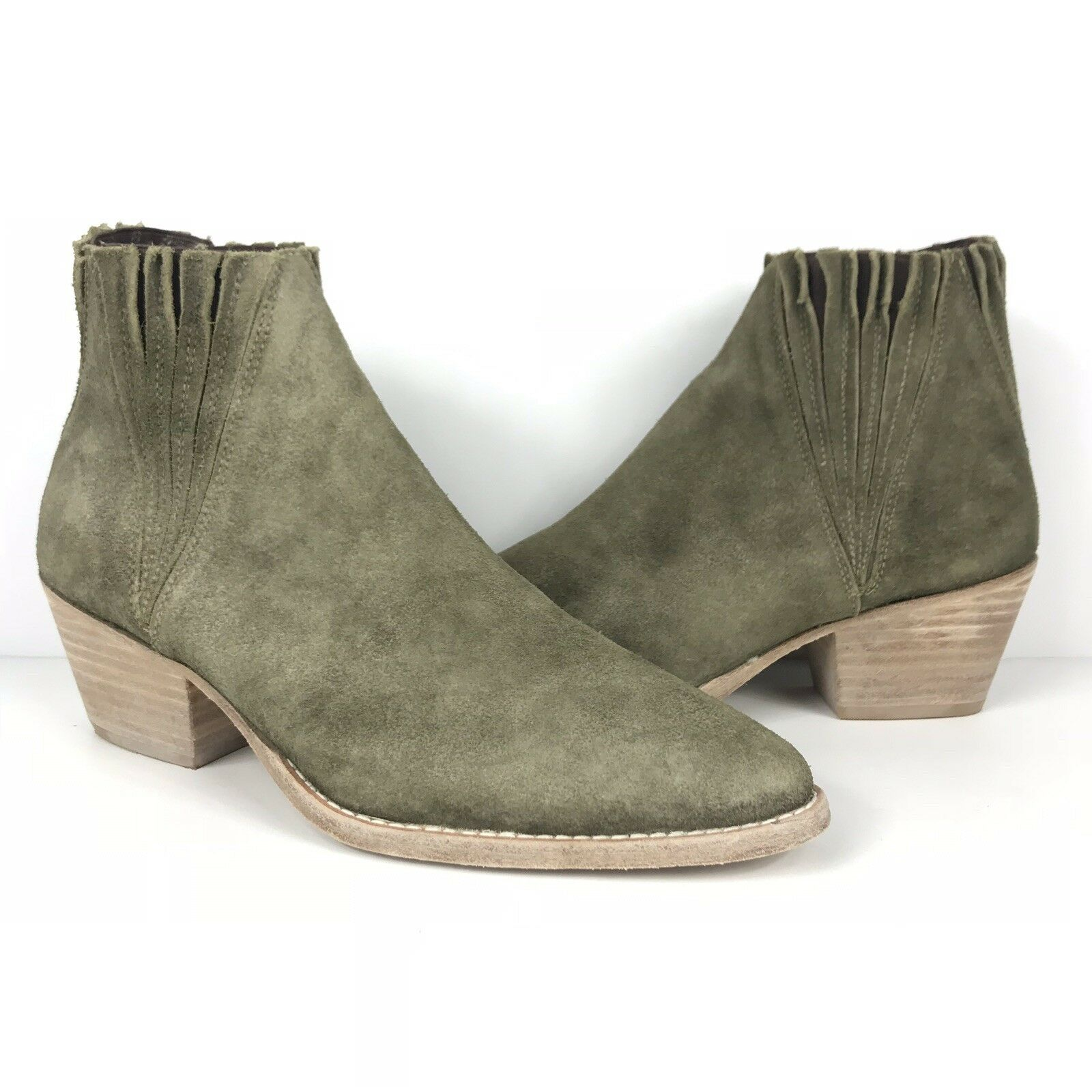 Faryl Robin Free People Trill Ankle Bootie Taupe Sz 8 Retail  NWOB