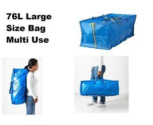avant et arrière bandes zip 76L,28/'/' 190 grammes Léger bagage sac de rangement coffre