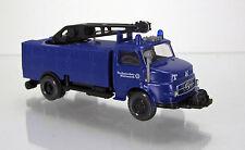 """Wiking 069321 Mercedes-Benz L 1413 Rüstwagen mit Kran """" THW """""""