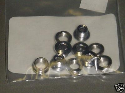 Chrome BMX Chainring Bolts Single 5-bolts