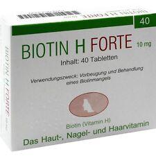 Biotin H forte 10 mg   40 st   PZN573339