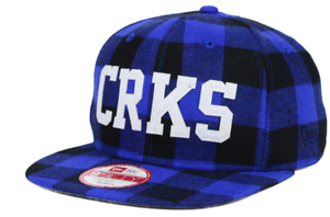 4a0b2f87c36 New Era X Crooks   Castles 9Fifty Flannel Strapback Adjustable Cap ...