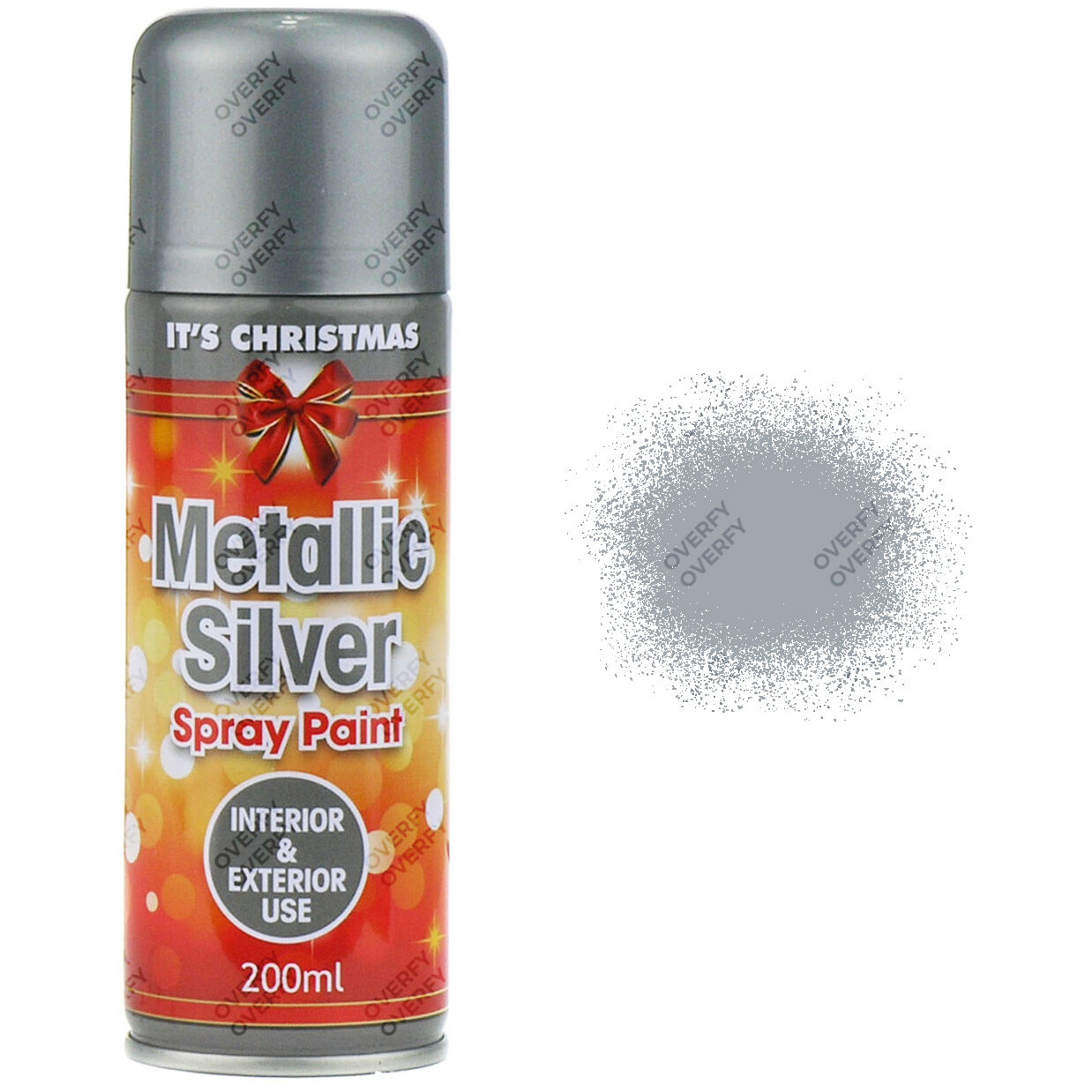 Metallic Silver Spray Paint Interior/Exterior Spray Aerosol Christmas Part 53
