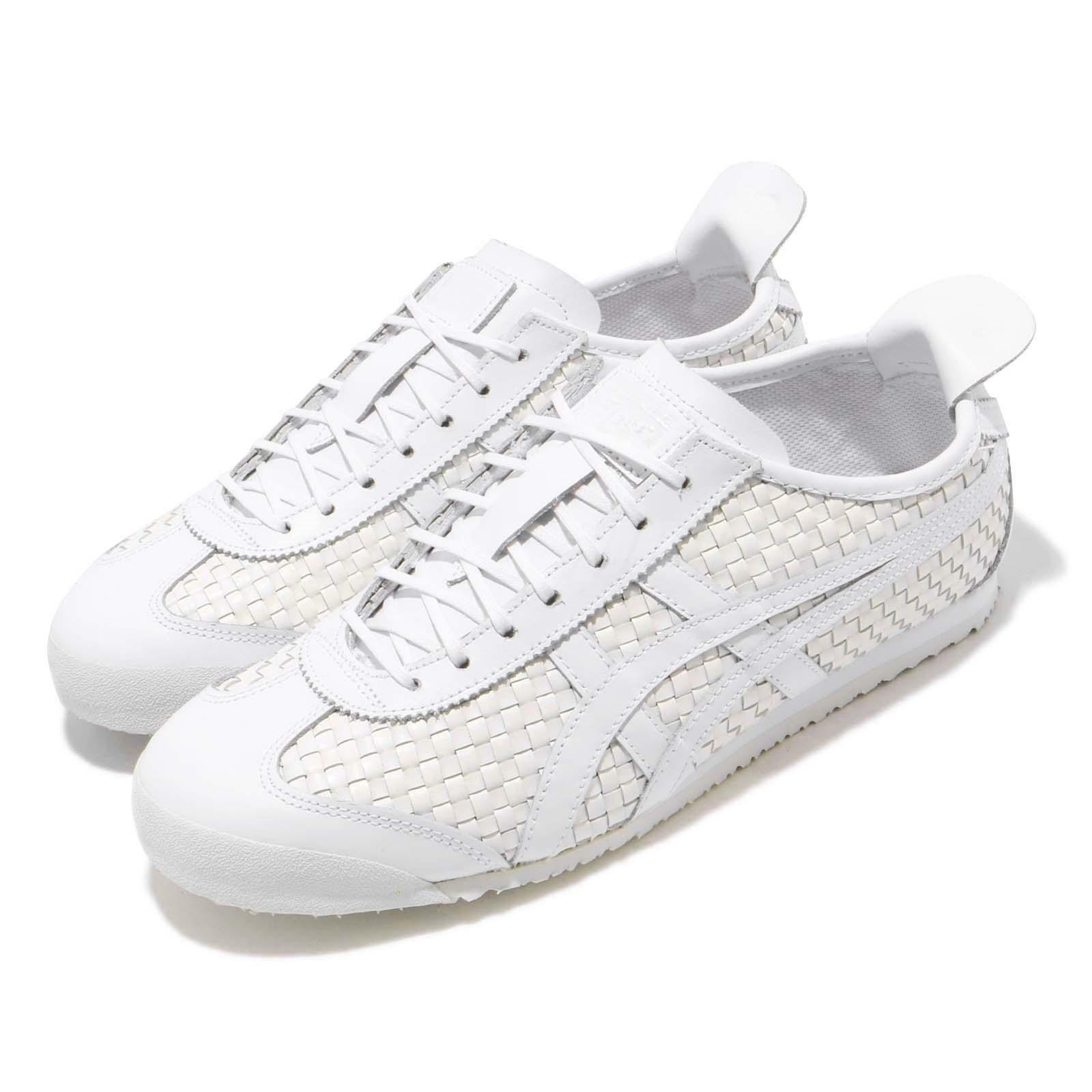 Asics Onitsuka Tiger Mexico 66 Blanc Hommes Femmes Chaussures De Course paniers D6M4L-0101
