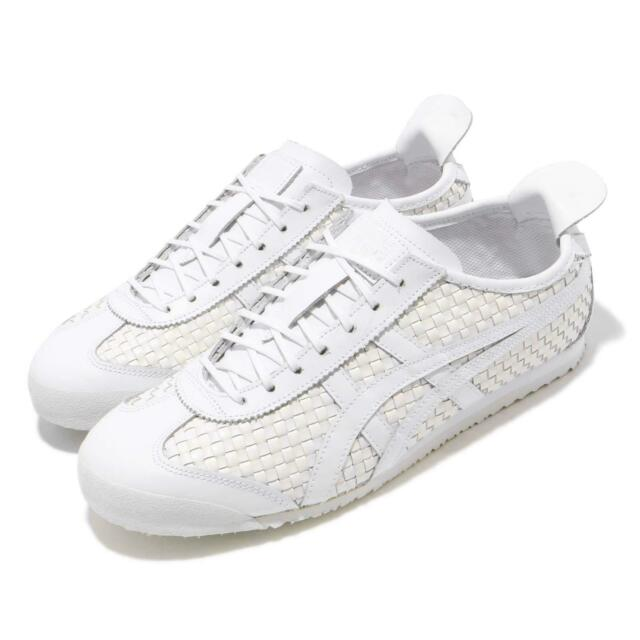 new styles 3a4cd 64de8 Asics Onitsuka Tiger Mexico 66 White Men Women Running Shoes Sneaker  D6M4L-0101