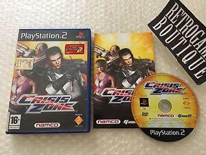 CRISIS-ZONE-PS2-Playstation-2-PAL-ITA-Ottimo
