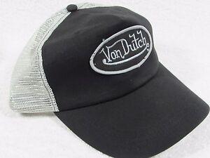 37c35058f50 NEW GENUINE Von Dutch Mesh Trucker Biker Snapback Hat Cap Adjustable ...