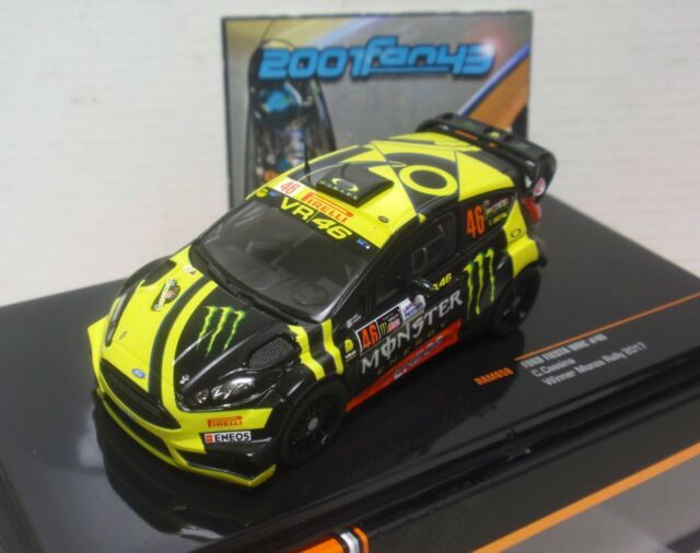 FORD FIESTA RS WRC #46 ROSSI RALLY MONZA 2017 1/43 IXO RAM658