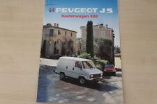 184566) Peugeot J5 800 Kastenwagen Prospekt 1990