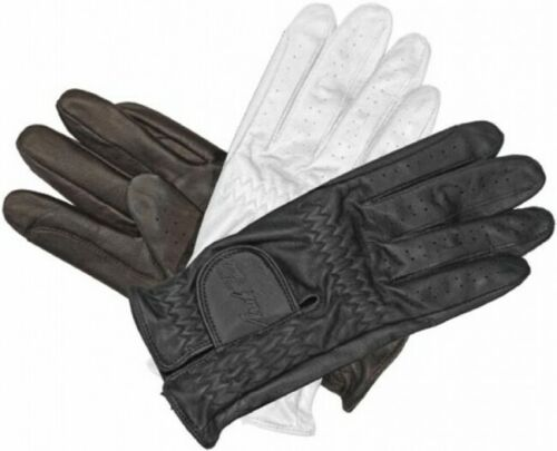 Mark Todd Leather Riding Gloves Black Size X-Small