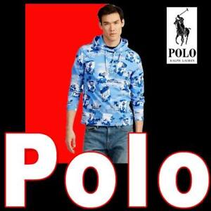 LIMITED EDITION POLO RALPH LAUREN TROPICAL JERSEY HOODED TEE 100% COTTON XL