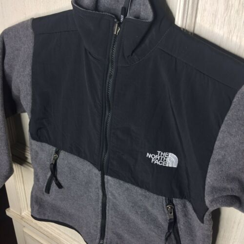 The North Face Youth Denali Fleece Jacket Charcoal Kids Size Sm 6-8 14-16 L