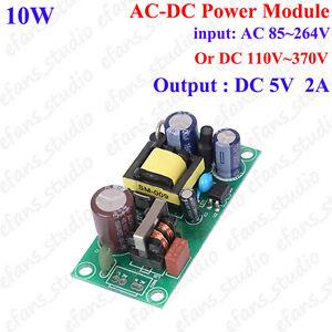 AC-DC Converter Step down AC 85V-250V 110V 220V 230V to 5V 2A Mini Buck Module