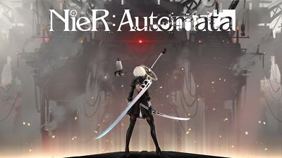 Video Game Nier Automata Yorha No2 Type B Silk Poster Wallpaper 24 X 13 Inches Ebay