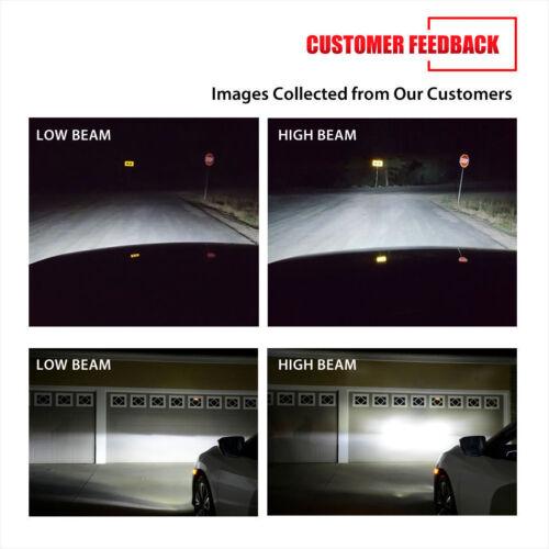 9005 9006 LED Headlight Bulb Conversion Kit For Freightliner Columbia 1996-2015