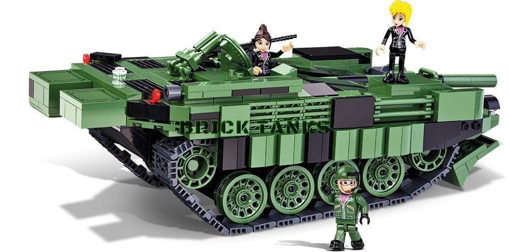 Stridsvagn 103 C (S-TANK) - Cobi 2498 - 600 Brique char de combat principal