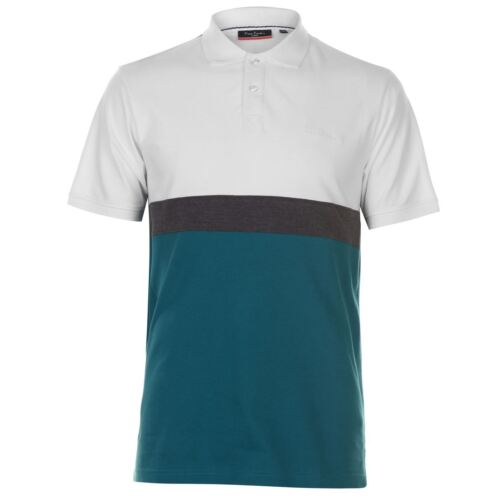 Pierre Cardin Mens 1950 Polo Shirt Classic Fit Tee Top Short Sleeve Cotton