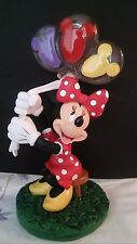 Disney World Minnie Mouse with Disney Balloons Photo Clip Holder NEW