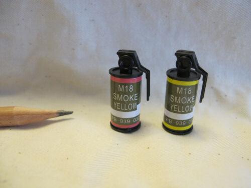 V058 Dollhouse Smoke Grenade Guns /& Asscessories Miniature Ken Army 1:6