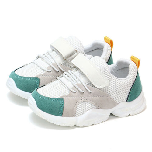 Toddler Baby Boys Girls Children Casual Sport Sneakers Mesh Soft Running Shoes