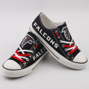 14f3f8ad Details about ATLANTA FALCONS Women's Men's Sneaker Shoes Sneakers Football  Glow in the Dark