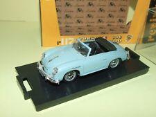 PORSCHE 356 ROADSTER 1950 Bleu BRUMM R117