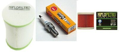 Tune up Kit Oil Air Filter Spark Plug Suzuki LTZ 400 Kawasaki KFX Arctic Cat DVX