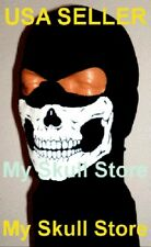 MW2 GHOST SKI MASK Skull Balaclava Face HOOD 2 HOLE COD Cosplay Ninja Biker ATV