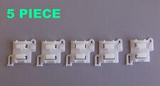 5 x ROMIX Türschwelle Platten-Clips, OPEL Omega, Vectra 164980; 90347304; C60912