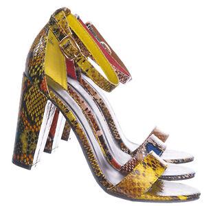 Mania38-Block-Heel-Snake-Print-Dress-Sandal-2-Piece-Ankle-Strap-Open-Toe-Shoe