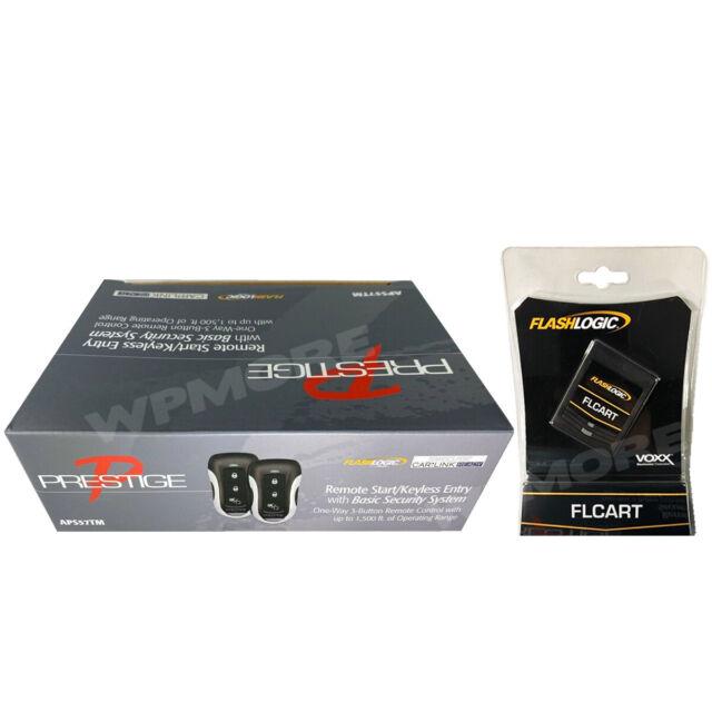 Audiovox Prestige APS57Z One-Way Remote Start /& Keyless Entry System 1500 Feet Range