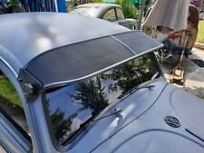 Vw Beetle Bug External Vintage Sun Visor Classic Alluminium Mesh Black