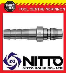 GENUINE-NITTO-MALE-COUPLING-AIR-FITTING-WITH-3-8-HOSE-BARB-30PH-JAPAN