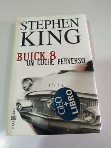 STEPHEN-KING-BUICK-8-un-Coche-Perverso-Libro-Tapa-Dura-PLAZA-JANES-380-pags-3T
