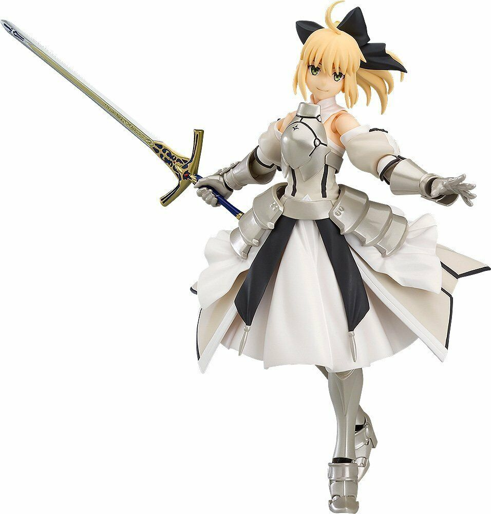 Max Factory Fate/Grand Order Saber Altria Pendragon Lily figma Action Figure