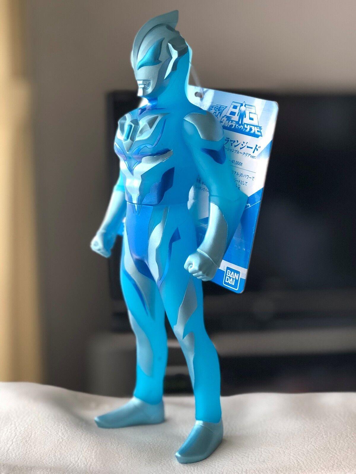 Japón Raro Ultra Big sofvi Ultraman Geed primitivo Océano Azul Claro Ver. figura