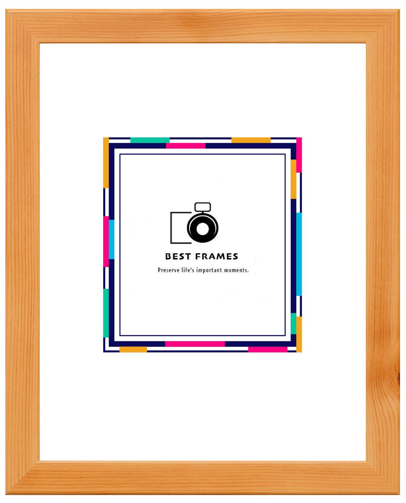 Pine e effetto legno di faggio Foto Foto Foto Poster Montature Varie Taglie, Made in UK. b81772