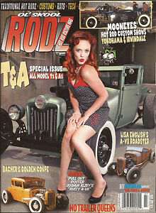 Ol-039-Skool-Rodz-magazine-76-1932-Ford-1963-BSA-1929-A-V8-roadster