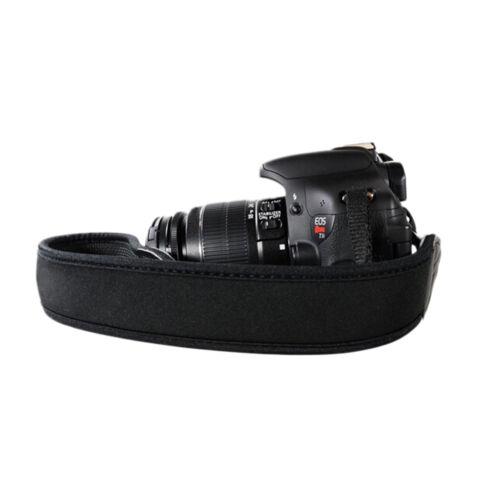 Correa de Cuello de Neopreno para Cámara Réflex Digital Binocular Nikon Canon Fuji Sony SK