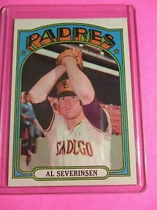 1972 Topps #274 Al Severinsen San Diego Padres HIGH GRADE Centered MINT GEM?