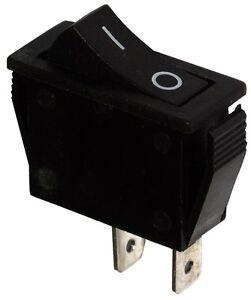 Acheter Pas Cher Interrupteur Commutateur Contacteur Bouton à Bascule Noir Spst On-off 15a/250v