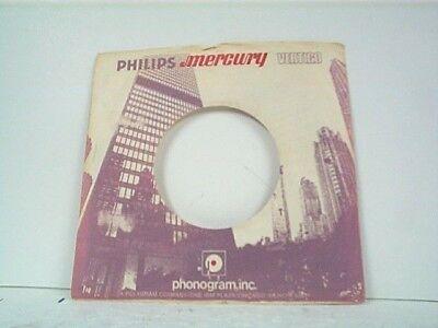 Music Disciplined 1-mercury Record Company 45's Sleeves Lot #153-k