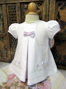 Will-039-beth-Newborn-Baby-Girl-Fancy-Lavender-Dress-Buttons-Portraits-NWT