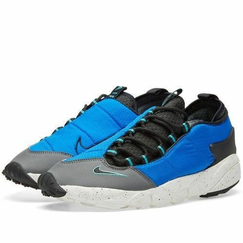 NIKE AIR FOOTSCAPE NM TRAINERS * BLUE / GREY * 852629 400 -  Seasonal price cuts, discount benefits