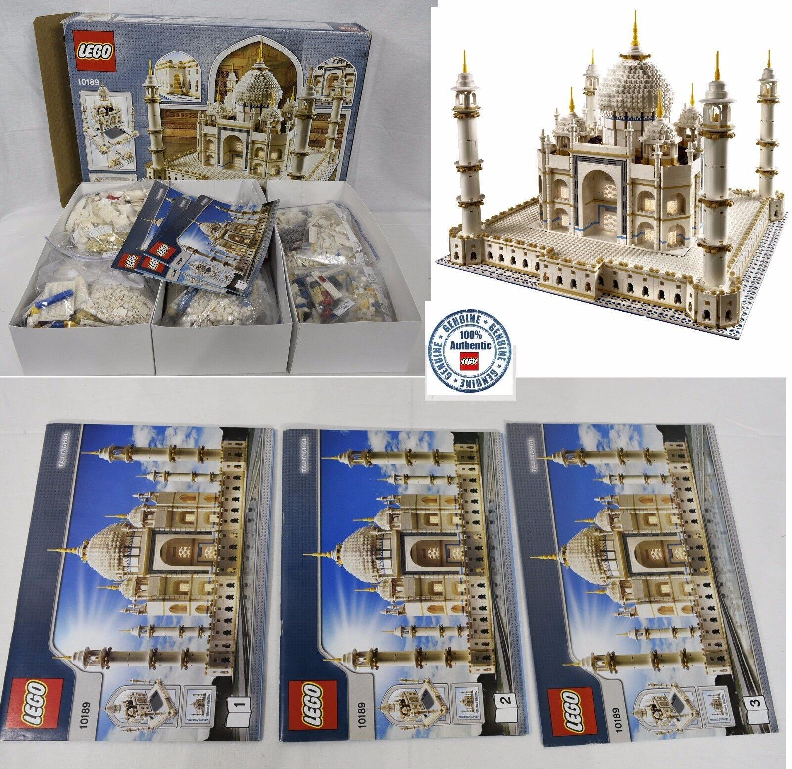 100%  completare 100% Genuine Lego Tajmahal 10189 with uomoual + scatola Taj Mahal  consegna veloce e spedizione gratuita per tutti gli ordini