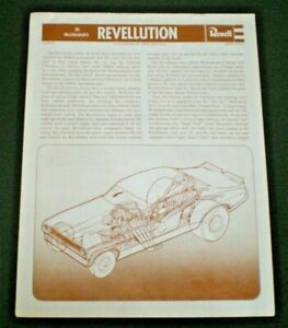 Revell-H-1482-034-REVELLUTION-Funny-034-Original-Model-Car-Instruction-sheet-1972