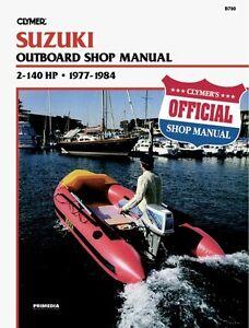 Details about CLYMER SUZUKI DT50 OUTBOARD MAINTENANCE SHOP REPAIR SERVICE  MANUAL 1977-1984