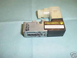 Joucomatic asco 833 8200050 pneumatic valve dc24v ebay image is loading joucomatic asco 833 8200050 pneumatic valve dc24v lt ccuart Image collections