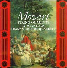 Mozart String Quartets K465 K590 Franz Schubert Quartett