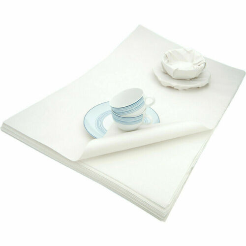 Luxury Tissue Paper Strong Large WHITE Acid Free Parcel Packing Sheets 500x750mm